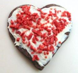Dog Valentine Cookie