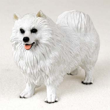 Samoyed Dog Breed Figurine