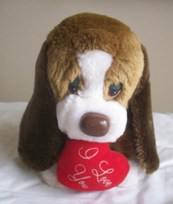 New Baxter Stuffed Dog