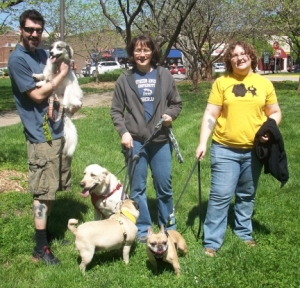Small Dog Walking Group