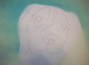 Drawing Mos Step 1