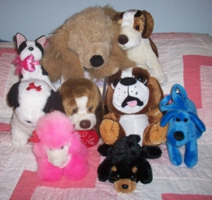 Stuffed Dogs