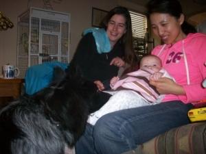 Pierson and Baby Elizabeth