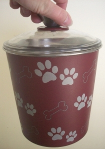 Bella Canister from Loving Pets