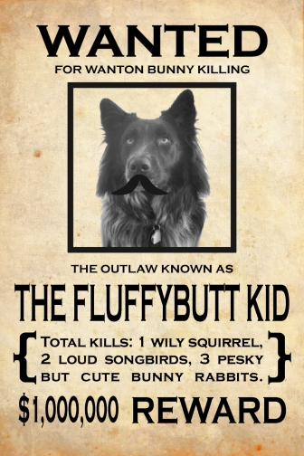 Dog Pierson Wanted Poster