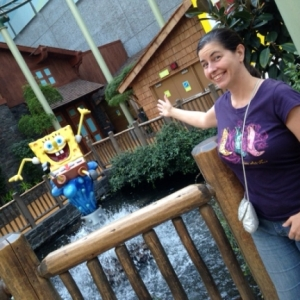Mall of America Me and SpongeBob