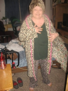 My Mom Wearing Leopard Print