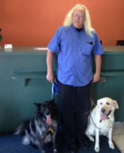 Motel 6 August 2014 Ron and Dogs