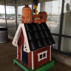 Snoopy at Ikea in Minnesota