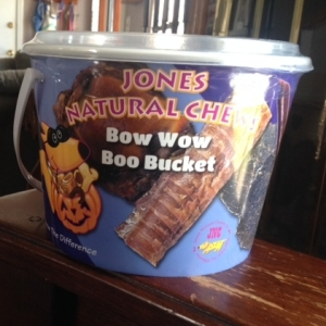 Boo Bucket from Jones Natural Chews