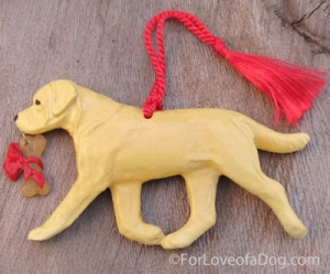 Labrador Retriever Ornament from ForLoveofaDog.com