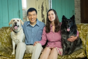 5 Year Anniversary Dawn Li Xi and Dogs